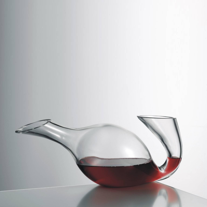 schwan dekanter weinkaraffe dekantierer glaskaraffe. Black Bedroom Furniture Sets. Home Design Ideas